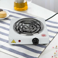 1000W Portable Electric Stove Burner Hot Plate Kitchen Coffee Tea Cooker Warmer