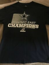 2014 Men's East Division Champions Dallas Cowboys Football NFL T-Shirt Size M