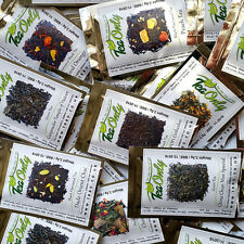 TeaOnly MIX & MATCH Set of 15 loose leaf tea samples. BARGAIN