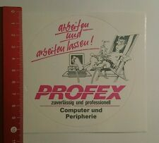 Aufkleber/Sticker: Profex zuverlässig und proffesionell (130816120)