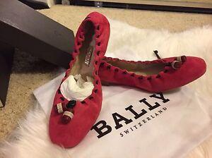 Bally Ballet Flat Size 6