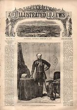 1870 Canadian Illustrated News February 19 - History of a genius; Windham dies