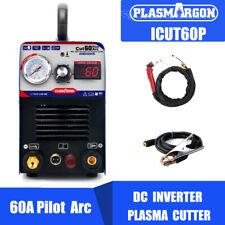 Igbt Pilot Arc Air Plasma Cutting Machine 60a 110220v Cnc Compatible Amp Wsd60p
