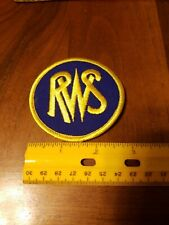 RWS AirGun Manufacturing Company Sew On Patch