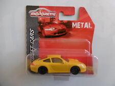 PORSCHE  911 carrera  ech 1/64  MAJORETTE   métal  neuf   blister non ouvert
