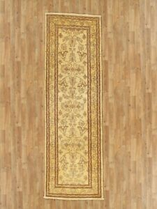 """Hand-Made 2'7"""" x 9'4"""" Hand-Knotted Peshawar Wool Area Rug Hand-Knotted Wool 6..."""