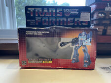 Transformers G1 Original Vintage Blurr Box From 1985 Lot