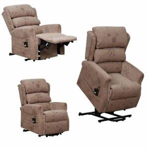 X 2 Dual Motor Riser Recliner Chair - Neutral