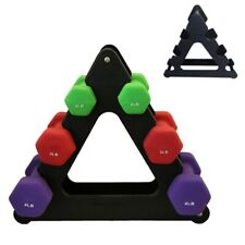 Weight Lifting Dumbbell Tree Rack Stands Holder Dumbbell Floor Bracket Gym Home