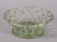 Rare Antique Liege a Traforato Glass Bowl Sotheby's Belgravia Provenance