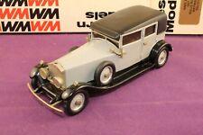 Western Models 1:43 WMS 36 1927 Rolls-Royce Weyman Saloon