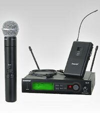 SHURE SLX124/85/SM58 Combo Wireless System