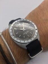 Rare Vintage Seiko 6117 8000 GMT Great Dial New Nato strap