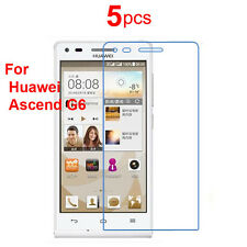 5X High Clear Best LCD Screen Protector Guard Film For Huawei Ascend G6