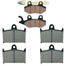 BRAKE PADS FITS TRIUMPH 1050 SPEED TRIPLE 2005-2006 FRONT REAR MOTORCYCLE PADS