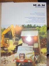 Prospekt Sales Brochure MAN M.A.N 26.280 DHAK Muldenkipper Allrad LKW Truck