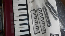 Hohner Melodica piano 27-Made in Germany-TOP Zustand-Top Condition-Mit Anleitung