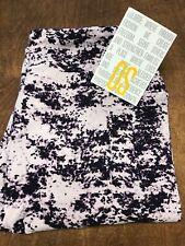 8d7e31d8f920b Luluaroe purple Tie-Dye Static One Size OS NEW #CC216 Festival Boho
