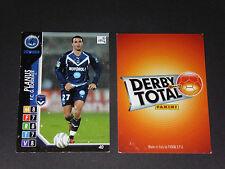PLANUS GIRONDINS BORDEAUX LESCURE PANINI FOOTBALL CARD 2004-2005