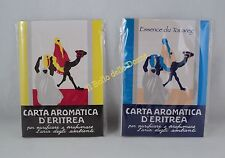 CARTA Aromatica d'ERITREA CARTA ESSENCE DU TUAREG 24 + 24 liste profumo ambienti