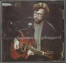 ERIC CLAPTON UNPLUGGED 14 track CD 1992 Andy Fairweather Low Chuck Leavell