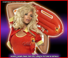 FANCY DRESS COSTUME# LADIES BAYWATCH SWIMSUIT MED 12-14