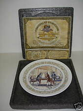 Limoges Legacy Collection 1974 Marquis de Lafayette w Coa Collector Plate.