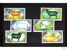 1020++MONGOLIE   SERIE TIMBRES  ANIMAUX SAUVAGES  N°2