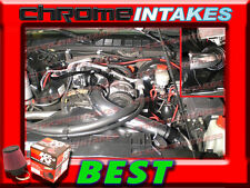 """K&N+BLACK RED 98-03 CHEVY S10 ZR2/XTREME/HOMBRE/SONOMA FULL COLD AIR INTAKE 3"""""""