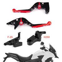 Adjustable Clutch Brake Lever For Honda CB500F CBR500R CBR250R CBR300RR Red