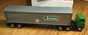 Winross White 5000 Jones Motor Tractor/Trailer 1/64