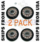 2 Pack *new* 349241t 349241 Dryer Drum Roller Kit Fits Whirlpool Kenmore Sears photo