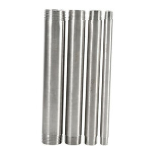 """304 Stainless Steel Male x Male Threaded Pipe Fittings BSP 1/8'' - 4"""" 100mm"""