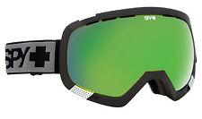 SPY OPTIC PLATOON Occhiali Da Sci Snowboard Telaio Nero Bronzo Verde Spectra Lente