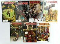 Marvel Comics: Deadpool Comics Series #32 #33 #34 #35 #36 #37 #38 - MC7
