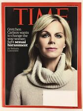 Time Magazine 10/31/2016 Gretchen Carlson fighting sexual harassment