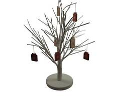 White Christmas Twig Tree Table Decoration - Christmas Decor - Table Centepiece