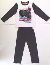 Marvel Ultimate Spider-Man Boy's Pajama 2 Piece Set Pants & Shirt Age 6 NWT