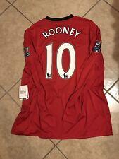 Manchester United Rooney Everton EPL League Jersey Football Soccer Nike Shirt