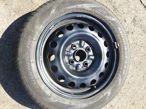 CITROEN C1 PEUGEOT 107 TOYOTA AYGO 14 Inch Steel Wheel +tyre 155 65 14   7mm