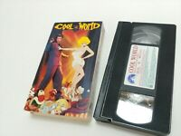 Cool World VHS 1993 Brad Pitt