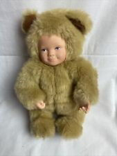 New ListingAnne Geddes Vintage 1997 Baby Bear Tan with Blue eyes.