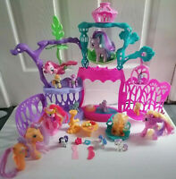 My Little Pony Seashell Lagoon with lots of Ponies & Accessories. Working light