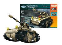 552 Pieces Desert Military Battle Tank RC Building Block Set