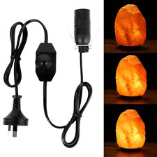 For Himalayan Salt Lamp High Quality Power Cord AU Approved W/ Dimmer Switch