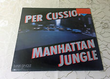 "PER CUSSION (12""MAXI)""MANHATTAN JUNGLE""[GER 1986 FOG REC. ""JAZZ-FUNK FUSION""] M-"