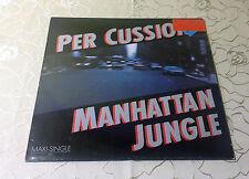 "PER CUSSION (12""MAXI)""MANHATTAN JUNGLE""[GER 1986 FOG REC. ""JAZZ-FUNK FUSION""] M-"