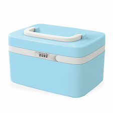 Combination Lock Personal Care Box Child-proof Medicine Storage Hand-held Case