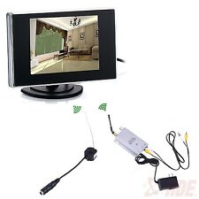 Hidden Pinhole Mini Wireless Nanny Camera Home Security System Micro Spy Cam
