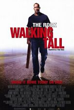 WALKING TALL Movie POSTER 11x17 C The Rock Neal McDonough Johnny Knoxville John